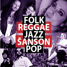 Folk  Reggae | Jazz | Šanson | Pop